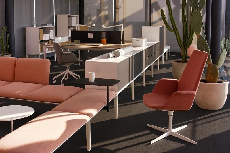 Uno Lapalma - Kolorowe biura w nowoczesnym stylu