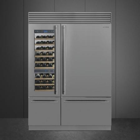 Chłodziarka na wino WF366LDX Smeg