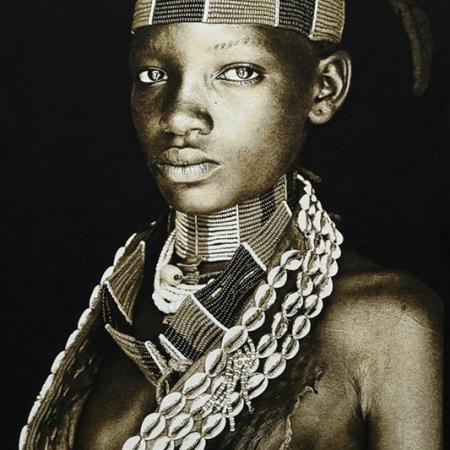 Gobelin Hamar Lady - Ethiopia Thomas Albrecht