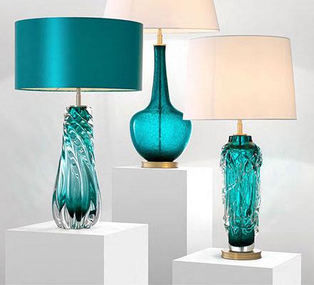 Kryształowe lampki nocne