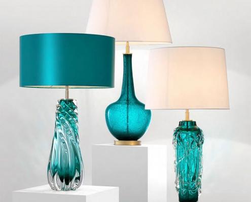 Lampki nocne kryształowe Baron