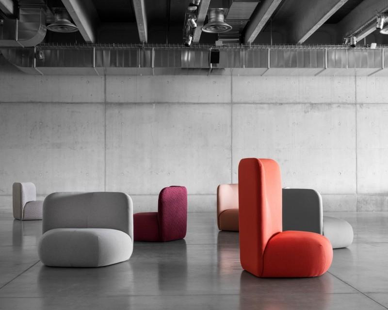 Nowoczesna sofa Botera Miniforms
