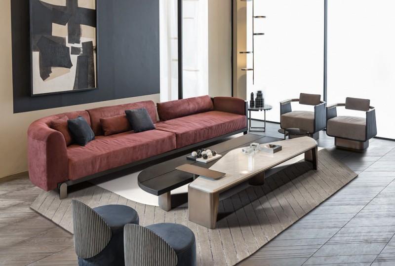 Nowoczesna sofa Ego Shake Design