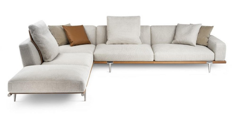 Nowoczesna sofa Let It Be Poltrona Frau