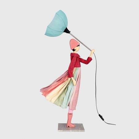 Kolorowa lampka dziewczynka ANATOLI Skitso
