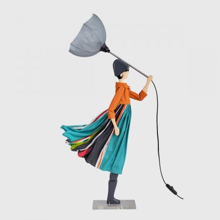 Kolorowa lampka dziewczynka PARESA Skitso