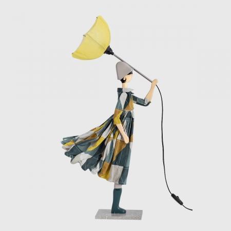 Kolorowa lampka dziewczynka TRIGONA Skitso