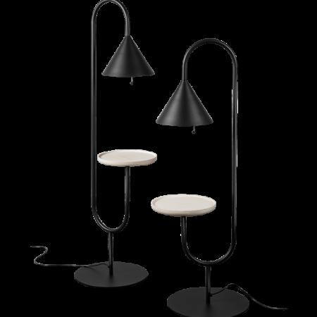 Lampa podłogowa ze stolikiem OZZ Miniforms