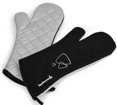 Rękawice czarne para BC-ACC-7099 Barbecook