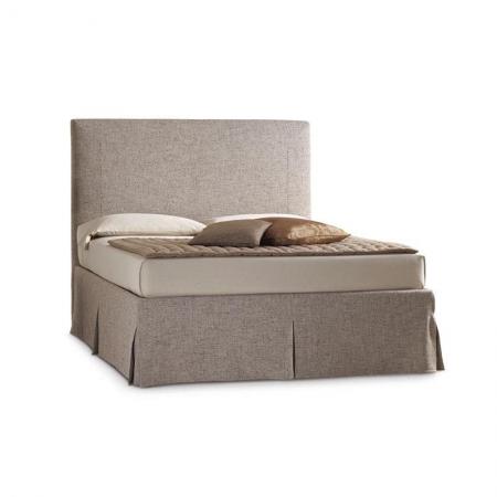Eleganckie łóżko tapicerowane Sardegna HORM