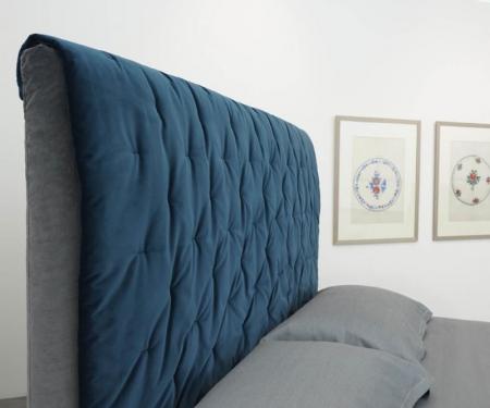 Nowoczesne łóżko tapicerowane Panarea