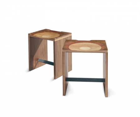 Nowoczesny stołek Ripples Sgabello
