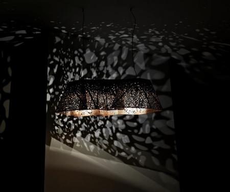 Oryginalna lampa wisząca Plywood Chandelier