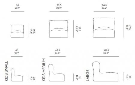 Oryginalny zestaw mebli Morfino & Morfino