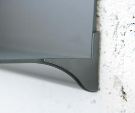 Aluminiowa półka ścienna Web Stopper