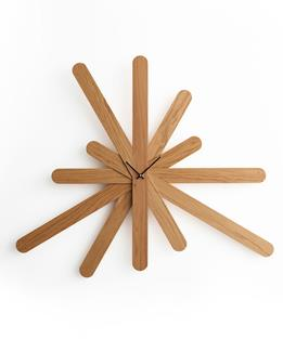 Drewniany zegar Woodclock
