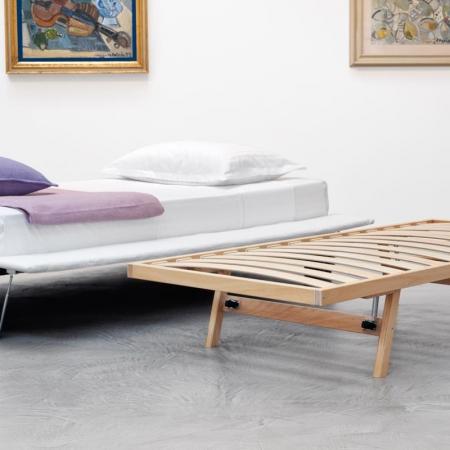 Łóżko tapicerowane Sommier Figi
