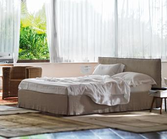 Łóżko tapicerowane Tahiti
