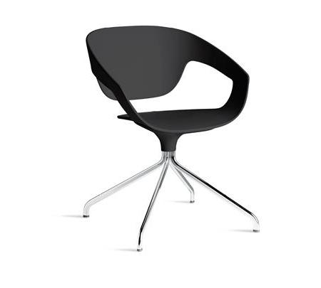 Minimalistyczne krzesło Vad Girevole Polipropilene