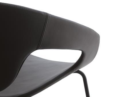 Minimalistyczne krzesło Vad Impilabile Imbottita