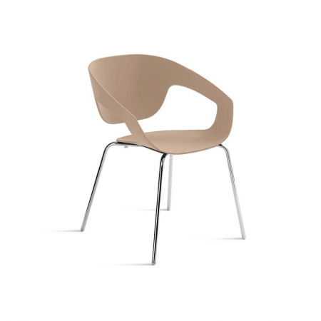Minimalistyczne krzesło Vad Impilabile Polipropilene