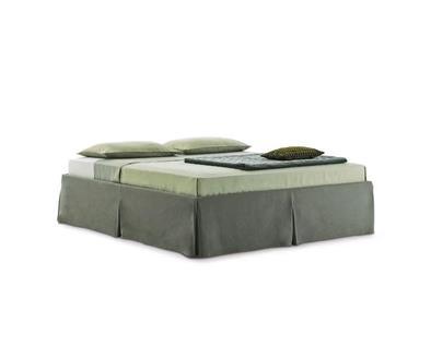 Minimalistyczne łóżko Sommier Sardegna