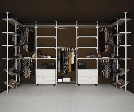 Minimalistyczny regał Web System Walk In Closet
