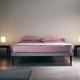 Nowoczesne łóżko Sommier Ebridi Legno