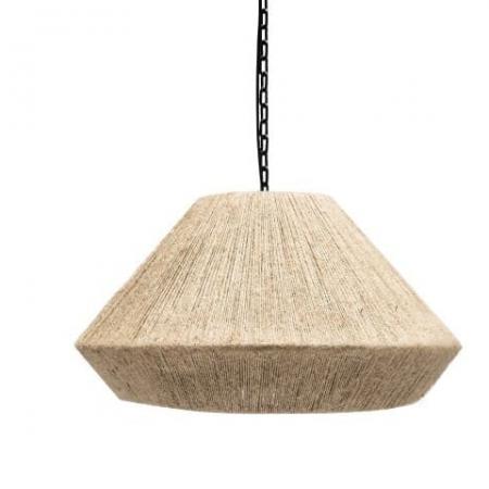 Lampa wisząca z liny jutowej Henry
