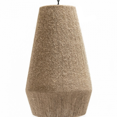 Lampa z liny jutowej Henry