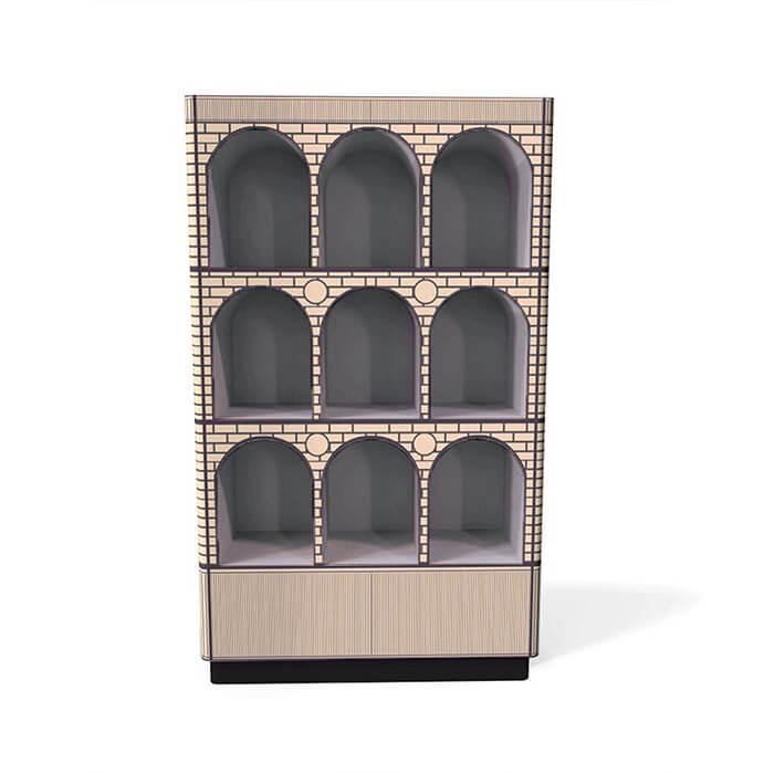 Count grigio cabinet