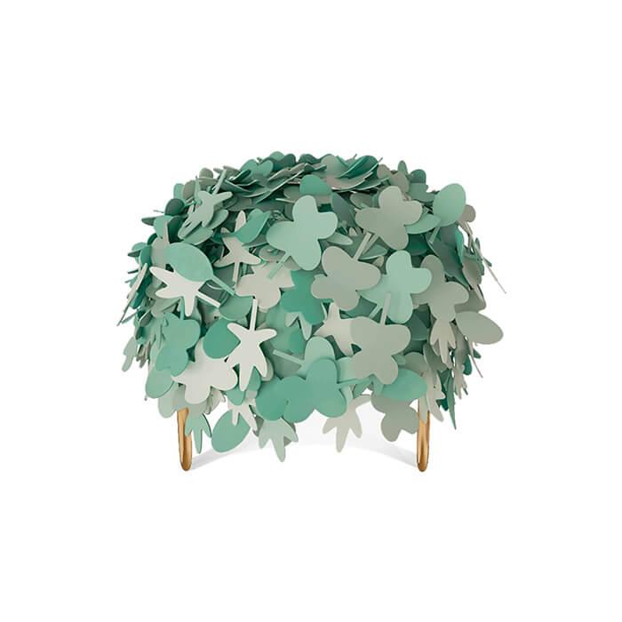 Leaf pouffe