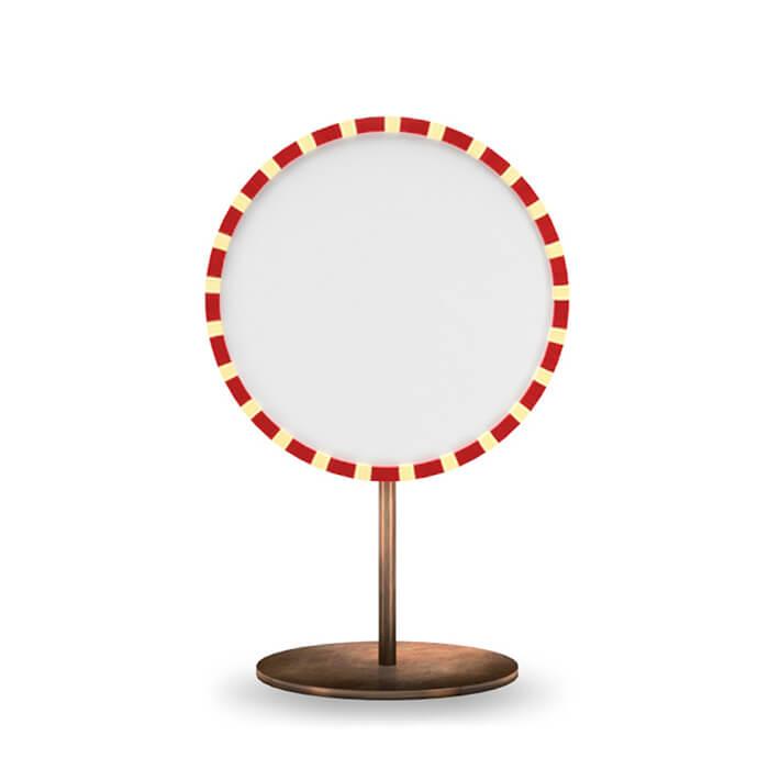 Paris mirror rosso table mirror